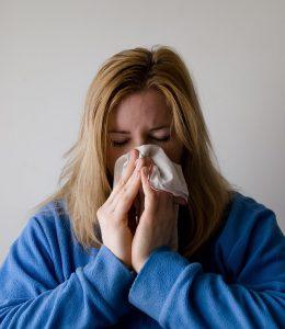 花粉症がつらい方はたかじん治療院へ